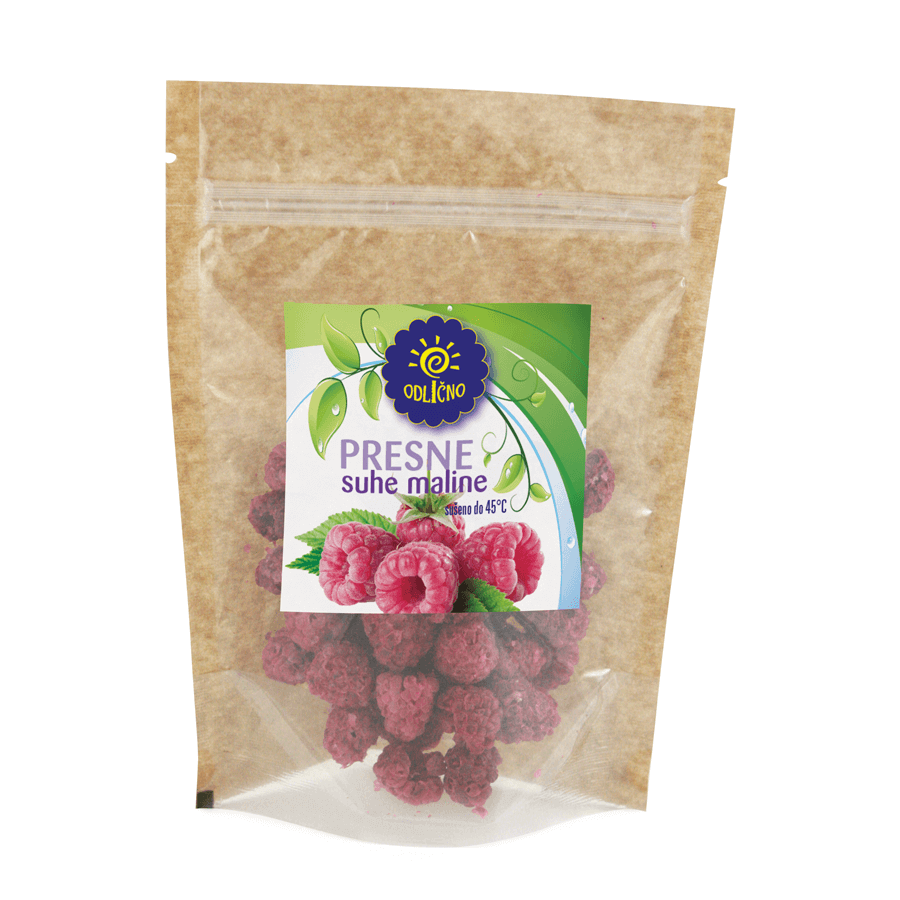 VACUUM DRIED Raspberries Odlično, 30 g