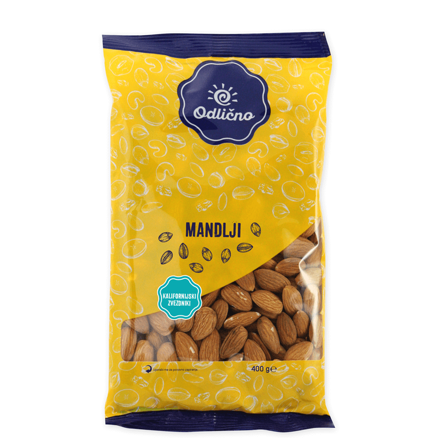 Almonds Odlično, 400 g