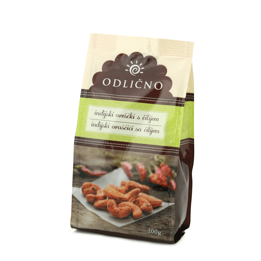 Chili Cashews Odlično, 200 g