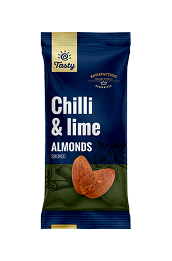 Chilli & Lime Cashews Tasty, 60 g