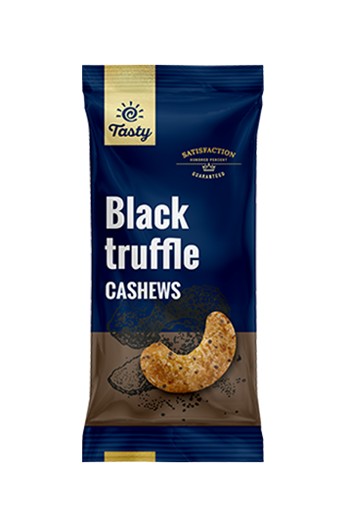 Black Truffle Cashews Tasty, 60 g