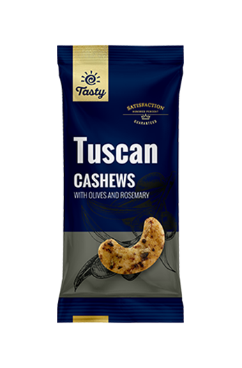Tuscan Cashews Tasty, 60 g
