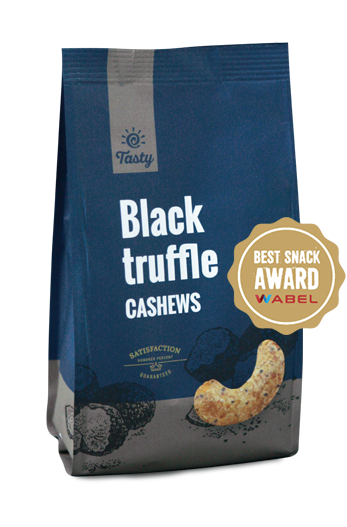 Black Truffle Cashews Tasty, 150 g