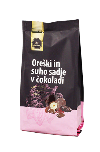 Chocolate covered dried fruit and nuts Odlično, 200 g