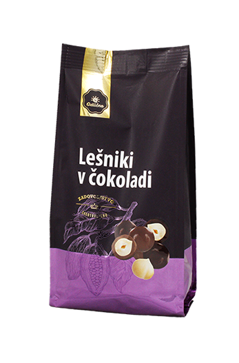 Chocolate covered Hazelnuts Odlično, 200 g