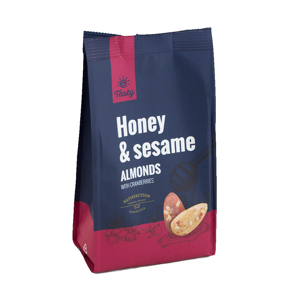 Honey & Sesame Almonds with Cranberries Tasty, 150 g