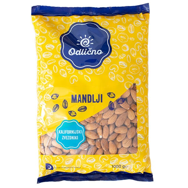 Almonds Odlično, 1000 g
