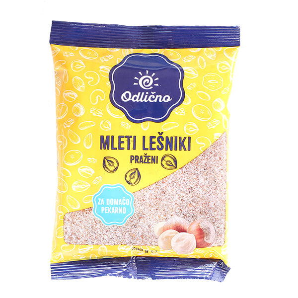 Ground Hazelnuts Odlično, 200 g