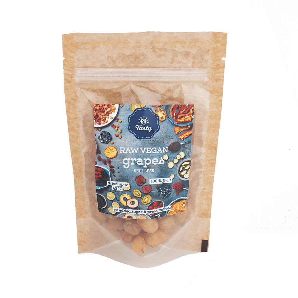 VACUUM DRIED Grapes Tasty, 50 g