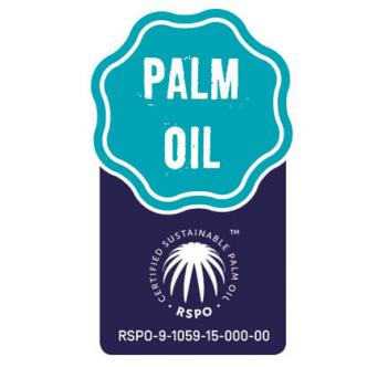 RSPO certified palm oil