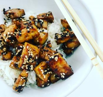 RECIPE: Sesame & Honey Tofu
