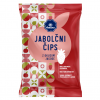 apple chips, strawberry